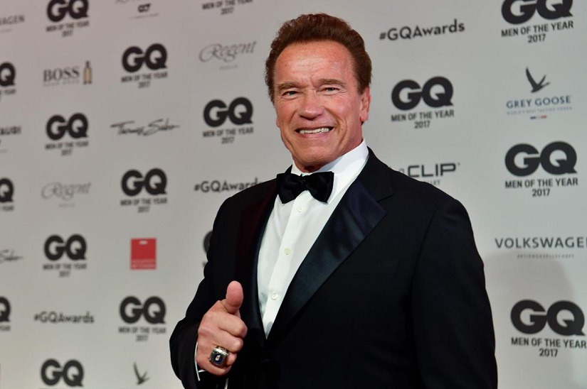 Arnold Schwarzenegger stable after heart surgery recovering Terminator star quips Im back
