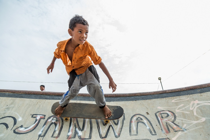 Janwaar Castle a skatepark in interior Madhya Pradesh is the subject of a book about rural changemakers