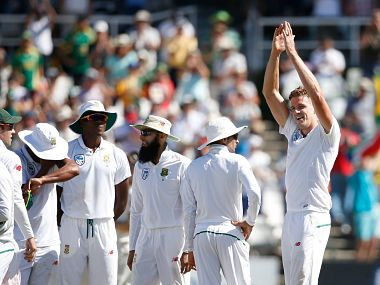South Africa's Morne Morkel joined the 300-club on the second day of the third Test against Australia. Image courtesy: Twitter @ICC