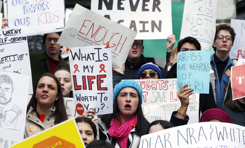 Enough is enough US students stage walkouts against guns