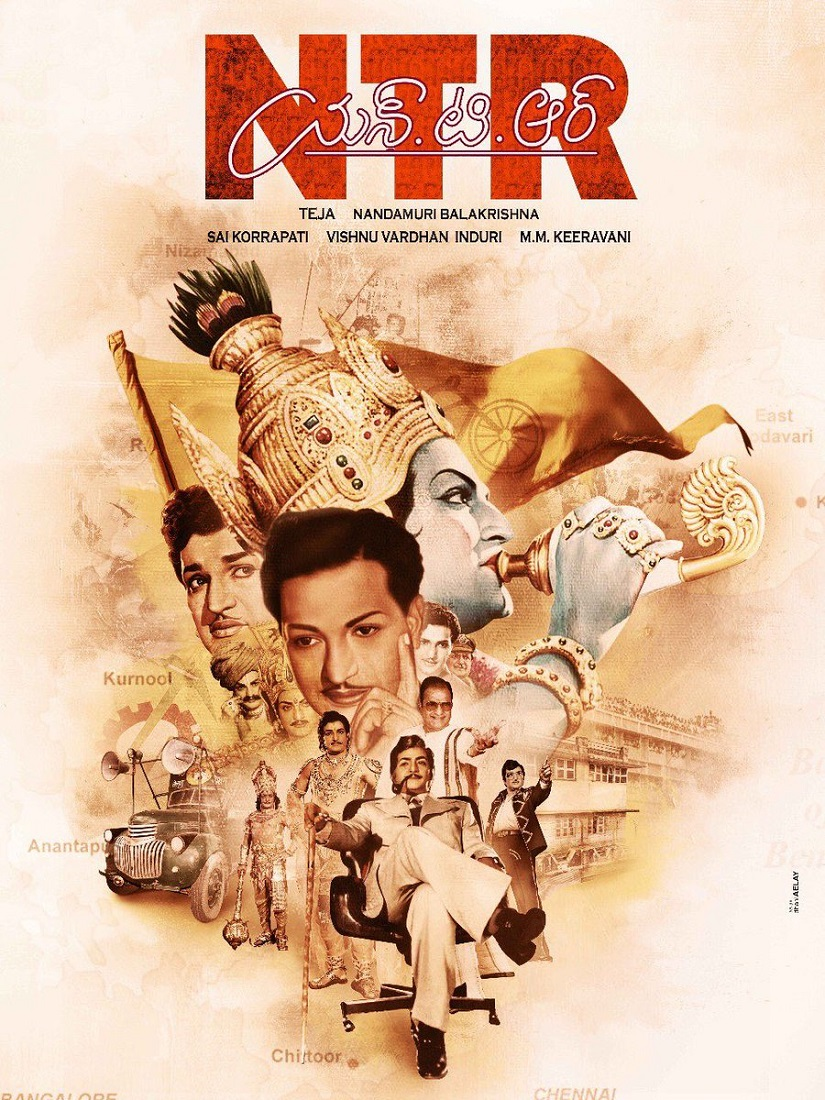 NT Rama Rao biopic traverses tricky terrain Will appeasing too many political stakeholders spoil the plot