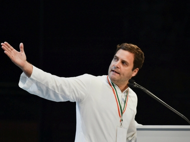 Congress president Rahul Gandhi sharpens his claws as he targets BJP by invoking the Mahabharata