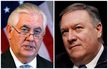 Trump sacking Rex Tillerson is not about policy its personal
