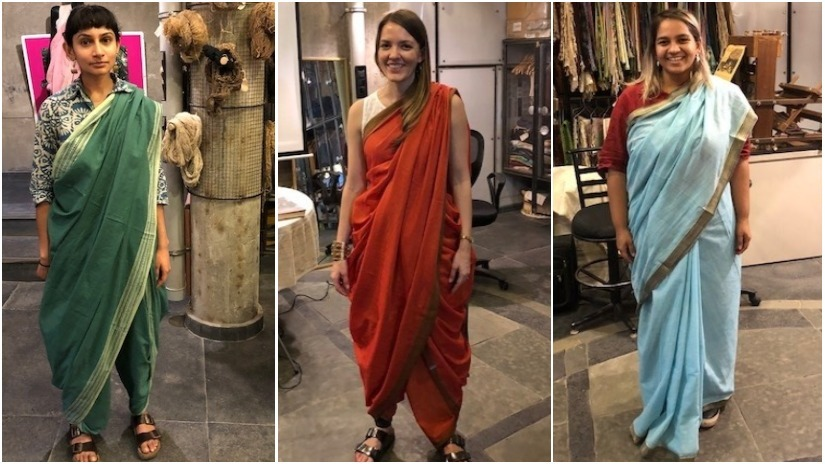 Sari story How its 108 wearing styles represent India its people  and their many mutinies