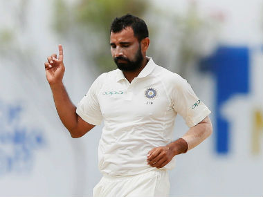 File photo of Mohammed Shami. Reuters