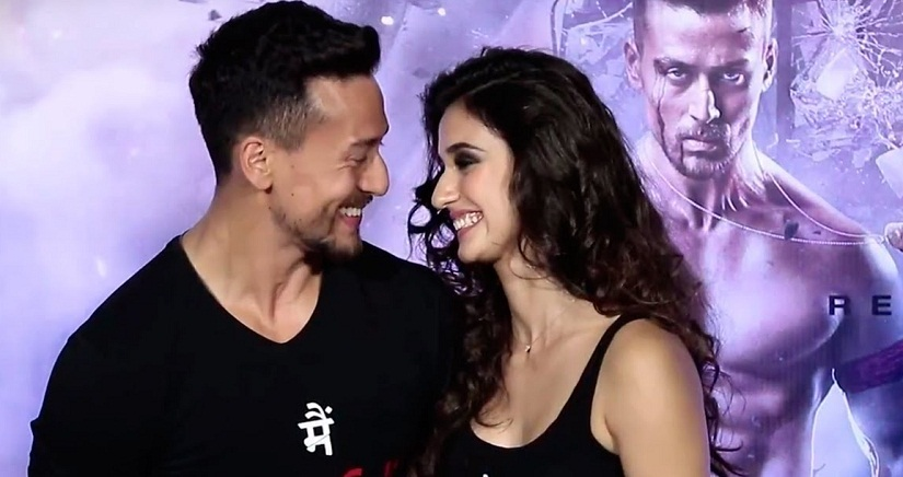 Baaghi 2 actress Disha Patani on working with Tiger Shroff Were both understanding and competitive