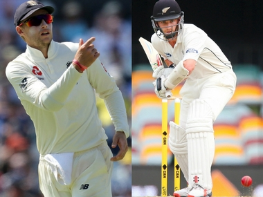 File image of England captain Joe Root and New Zealand Kane Williamson. Agencies