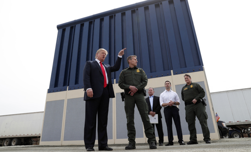 In 13 trillion budget what did Trump get for border wall Read the fine print here