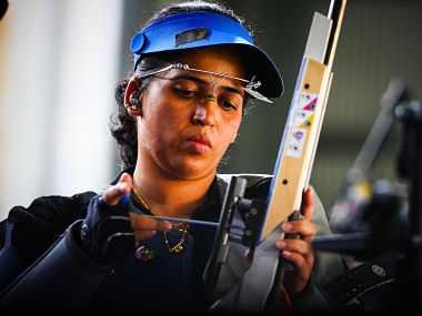 ISSF World Cup Tejaswini Sawant misses 50m rifle 3 positions final by a point as Indias poor run continues