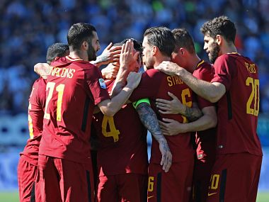 Serie A AS Roma warm up for Liverpool clash with easy win over SPAL Fiorentina lose to Sassuolo