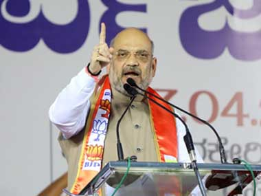 Amit Shah accuses Sharad Pawar of lying on Rafale says he is nervous due to NCPs falling fortunes