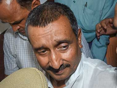 Kuldeep Singh Sengar gets life term in Unnao rape case Delhi court orders exBJP MLA to pay Rs 25 lakh compensation to victim