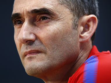 Champions League Barcelona coach Ernesto Valverde hopes teams awayday blues are behind them ahead of Lyon clash