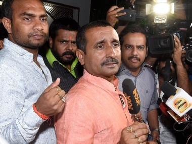 Unnao rape survivor accident CBI books Kuldeep Singh Sengar 10 others for murder in fresh FIR for 29 July truck accident