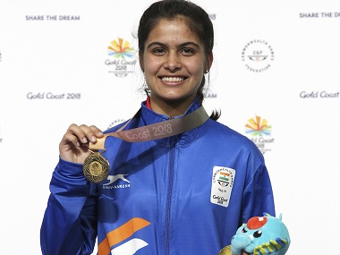 Indias Manu Bhaker bags gold with world record score at ISSF Junior World Cup Anish Bhanwala gets bronze
