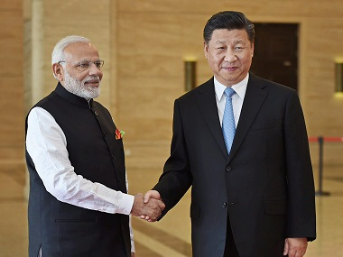 Narendra ModiXi Jinping meet India China agree to undertake joint economic project in Afghanistan