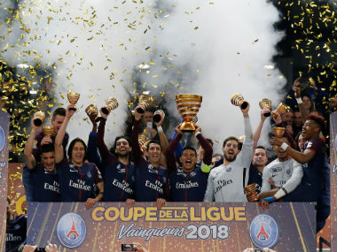 French Cup Kylian Mbappe stars as Paris SaintGermain outclass AS Monaco to claim fifth consecutive title
