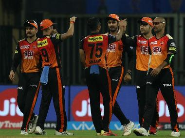 File image of Sunrisers Hyderabad. Sportzpics