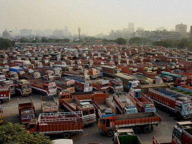 Truckers strike Nationwide agitation enters fourth day businesses lose an estimated Rs 10000 crore