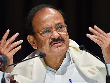 TRS BJD SP support Venkaiah Naidu as Opposition plans to write protest letter against Rajya Sabha chairman