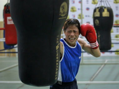 Abhinav Bindra doesnt know anything about boxing to interfere says Mary Kom as row with Nikhat Zareen rages on
