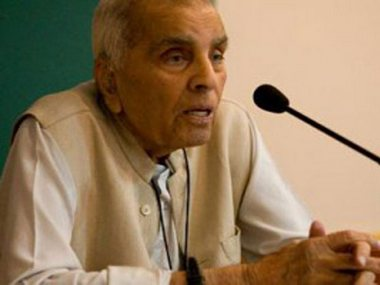 Rajinder Sachar dies at 94 Former Delhi HC Chief Justice had chaired panel on condition of Muslims in India
