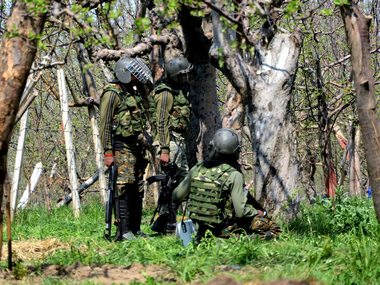 Two militants inspired by Islamic State killed in encounter in JKs Shopian forces seize ammunition from gunfight scene