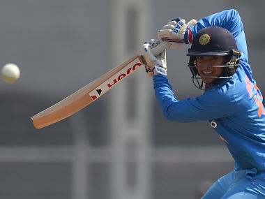 Smriti Mandhana will lead one of the two Women's team in the one-off T20. AFP
