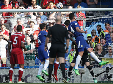 Premier League Olivier Giroud heads Chelsea to victory over Liverpool keeps Champions League hopes alive