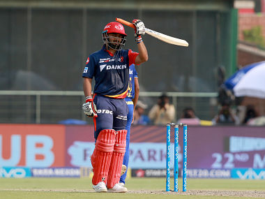 Rishbah Pant played a brilliant knock of 64 runs to take his side to a decent total. Sportzpics