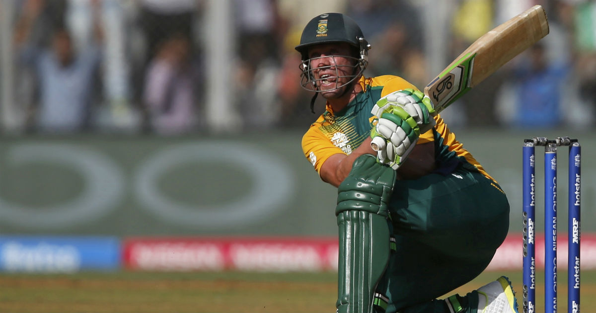 AB de Villiers spoke of returning for the 50-over World Cup in 2019 as well, but that too came to naught. File image.