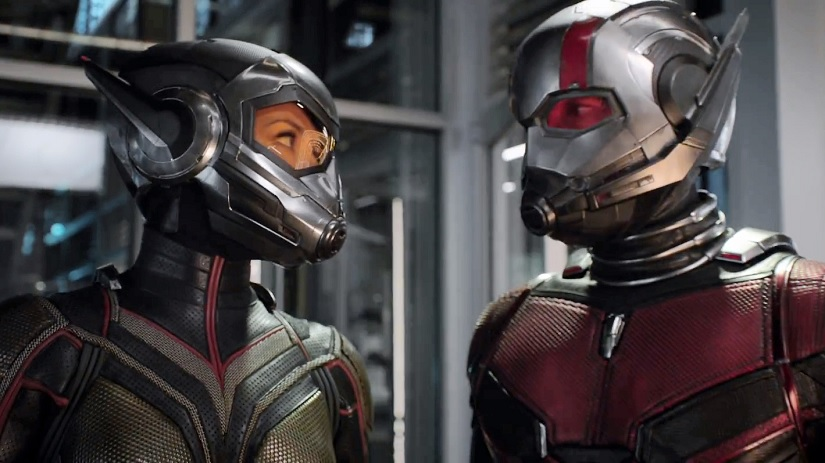 AntMan and the Wasp Paul Rudd Evangeline Lilly make a Ghostbusting todo list in new teaser
