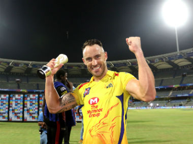 Faf du Plessis' unbeaten 67 played a central role in CSK entering their eighth IPL final. Sportzpics