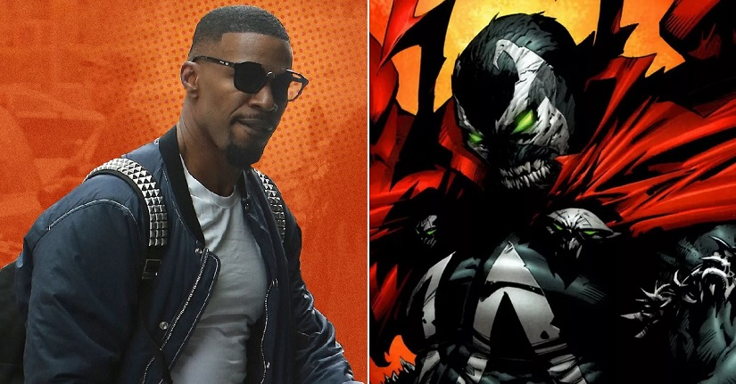 Jamie Foxx confirmed to play Spawn in Todd McFarlanes big screen adaptation of comic book
