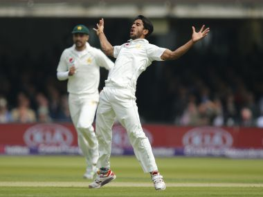 Hasan Ali was instrumental in Pakistan's win over England in the 1st Test at Lord's. AP