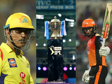 MS Dhoni and Kane Williamson, captain of CSK and SRH respectively. Sportzpics