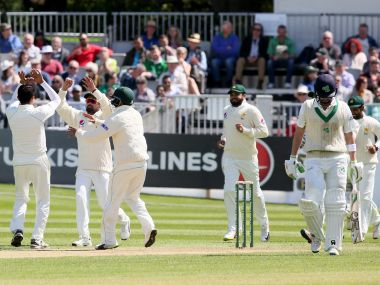 Ireland's honeymoon period in Test cricket was over after a miserable Day 2 against Pakistan. AFP