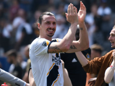 MLS Unstoppable Zlatan Ibrahimovic nets hat trick for LA Galaxy in upset win over Los Angeles Football Club