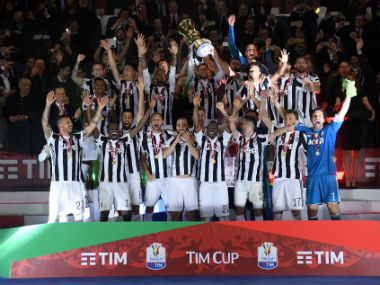 Italian Cup Juventus run riot against AC Milan to clinch record 13th title on brink of fourth straight domestic double