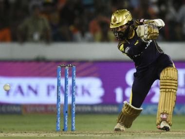 File image of Kolkata Knight Riders captain Dinesh Karthik. AFP