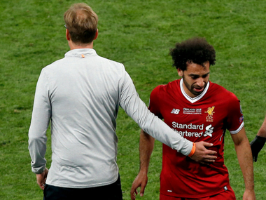 Champions League Liverpool manager Jurgen Klopp believes Mohamed Salahs shoulder injury is serious