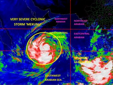 Cyclone Mekanu likely to emerge as strongest cyclonic storm to hit Oman may trigger heavy showers in Maharashtras Konkan region