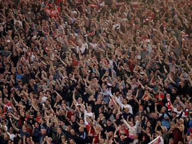 Champions League Diehard football fans are like 12th man according to latest research