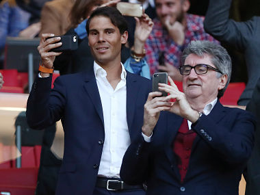 Madrid Open Longtime Real fan Rafael Nadal grilled by Spanish media after appearing with Atletico jersey