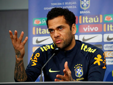 2018 FIFA World Cup Brazils Dani Alves vows to come back stronger doesnt rule himself out of 2022 edition