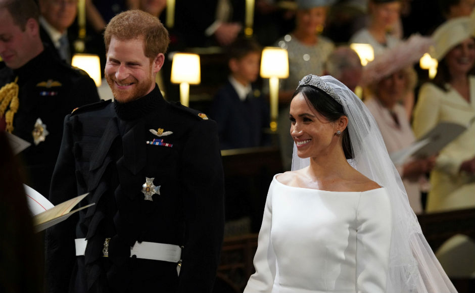 Royal wedding Prince Harry and Meghan Markle marry in a starstudded Windsor Castle ceremony