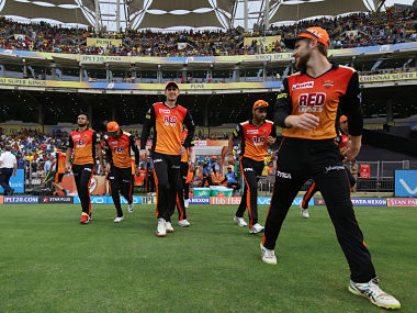 Sunrisers Hyderabad top points table with 18 points in the league stages. Sportzpics