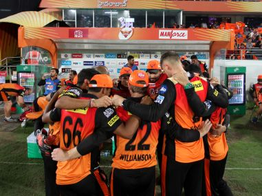 Sunrisers Hyderabad are placed on top of the IPL table currently. Sportzpics
