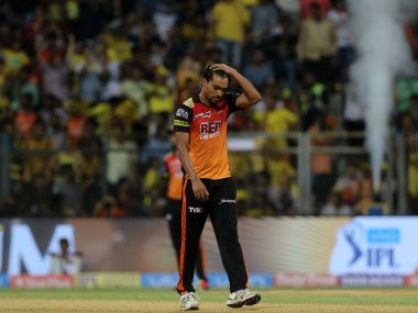 Sandeep Sharma conceded 27 runs in the 13th over of the chase against CSK. Sportzpics