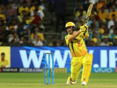 Chennai Super Kings' Shane Watson in action against Sunrisers Hyderabad in the IPL final. Sportspicz